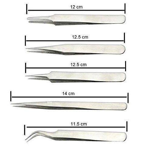 Pagkis Non-Magnetic Stainless Steel Tweezers | Makershala Warehouse(Makerware)