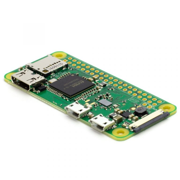 Raspberry Pi Zero-W V1.1 Development Board With Official Case