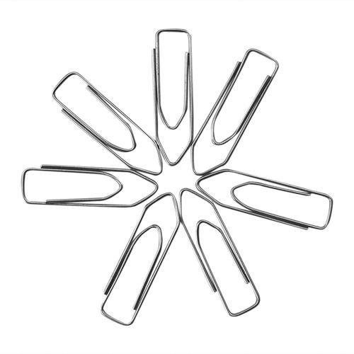Steel Paper Clip 35mm Pointed (Pack of 100 pcs)