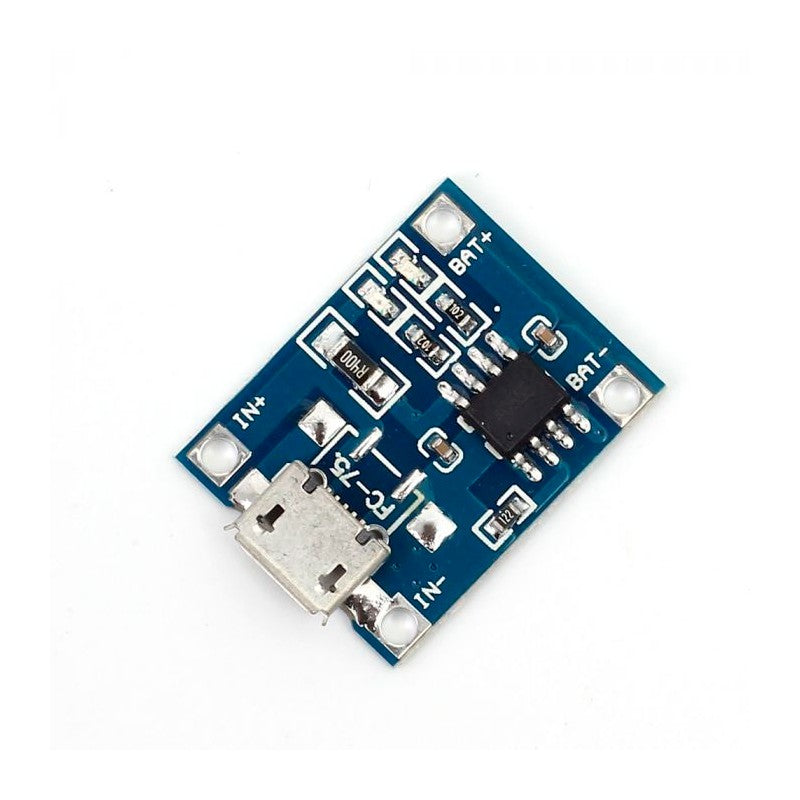 TP4056 1A Li-ion Battery Charging Module(Without Current Protection)-Micro USB