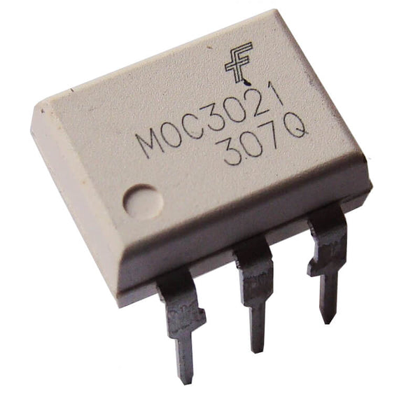 MOC3021 Optocoupler 6 Pin Random Phase Opto Isolator Triac