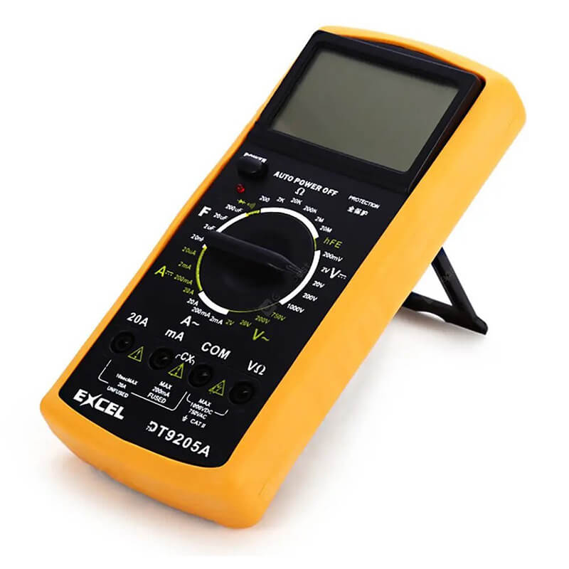 dt9205a multimeter manual