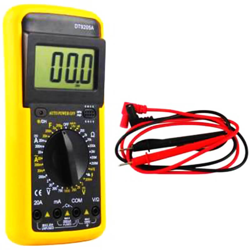 dt9205a digital multimeter manual