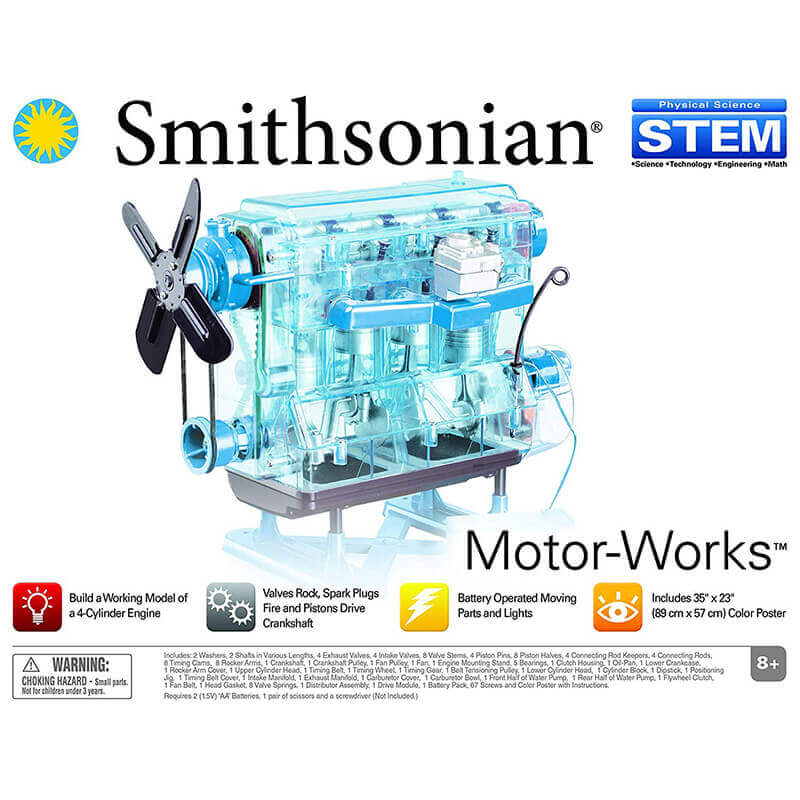 Smithsonian Lab for Motor Works | Makerware