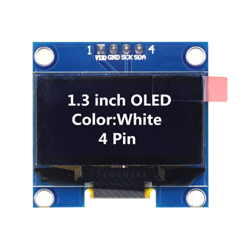 1.3 inch OLED Display White