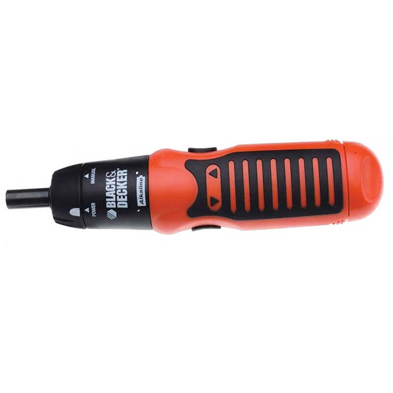 Battery Powered Rubber Handle Screw Driver set