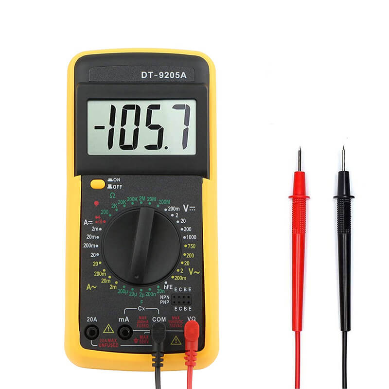 digital multimeter dt 9205a