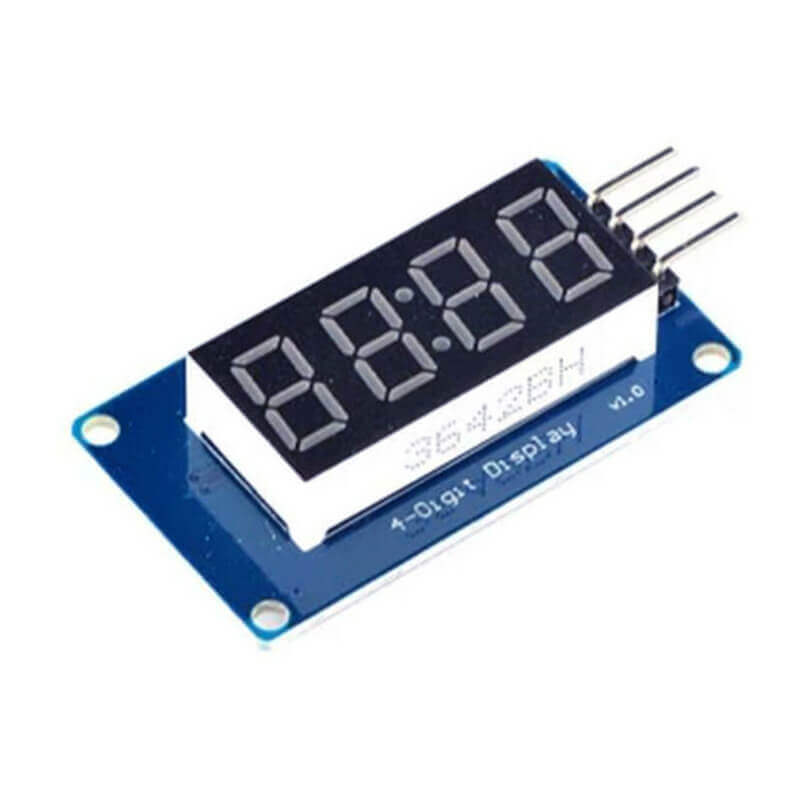 TM1637 Clock Display Seven Segment | Makerware