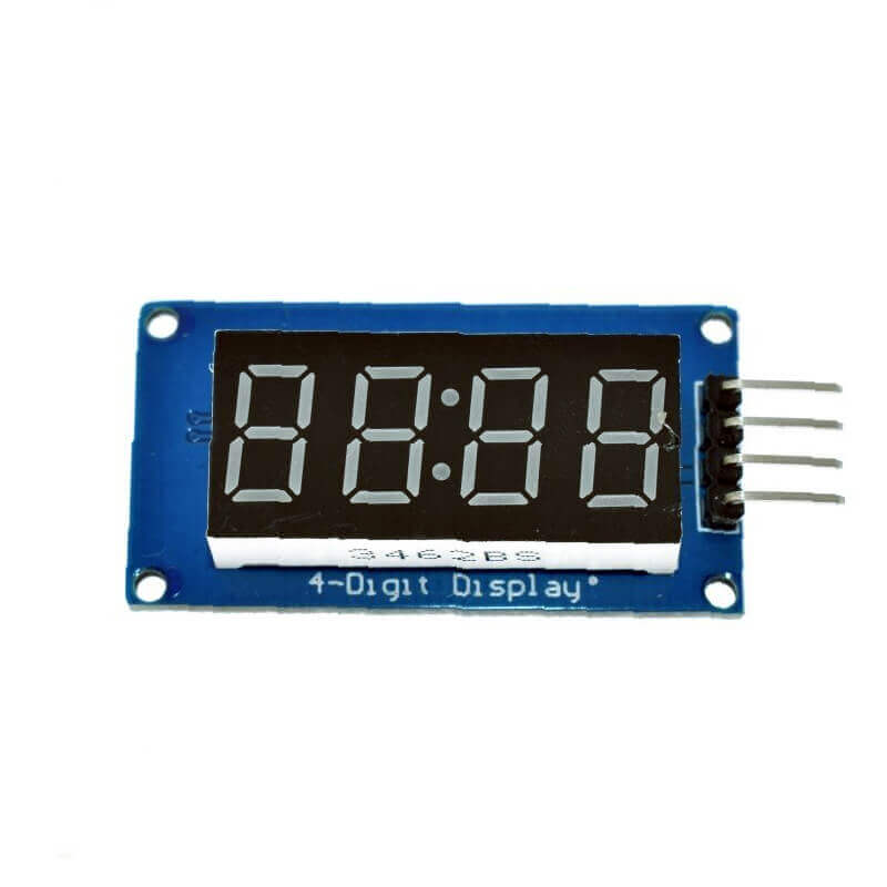 4 Digit 7 Segment Display Module with Tm1637 Clock Display