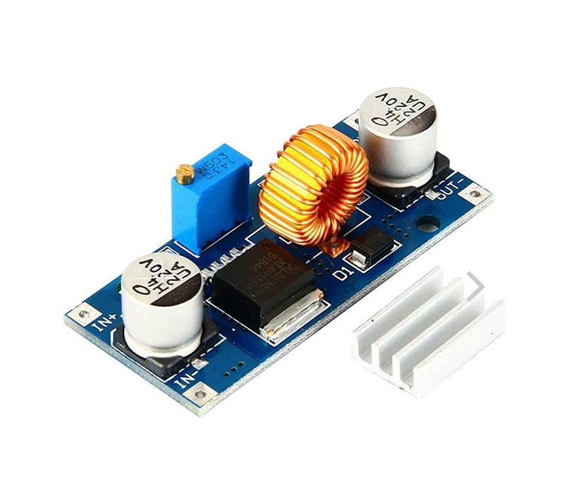 XL4015 - 5A Step Down Adjustable Power Supply Module With HEAT SINK