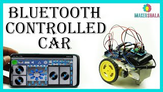 'DIY Kit' Bluetooth Controlled Car Using Arduino