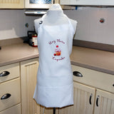 Kitchen Apron In White - Hey There Cupcake from Whimsly,Apron,CotswoldDownsCrafts,CotswoldDownsCrafts
