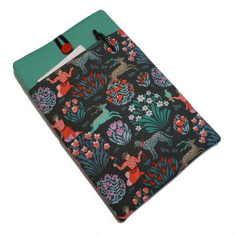 Apple iPad Tablet Sleeve - Custom Case For Your Apple Ipad Tablet - Asian Garden Print,Tablet sleeve,CotswoldDownsCrafts,CotswoldDownsCrafts