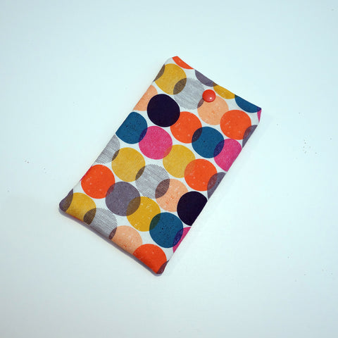 Fabric Eyeglasses Case - Fabric Sunglasses Case - Phone Case - Padded Case - Colorful,Eyeglass case,CotswoldDownsCrafts,CotswoldDownsCrafts
