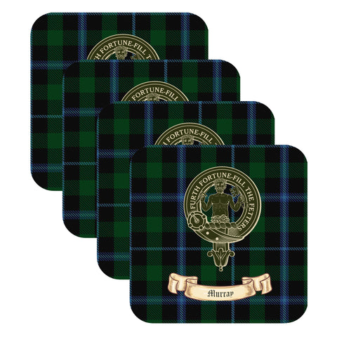 MacLean Scottish Clan Crest Drinks Coaster - Set of Four,Clan coaster,CotswoldDownsCrafts,CotswoldDownsCrafts