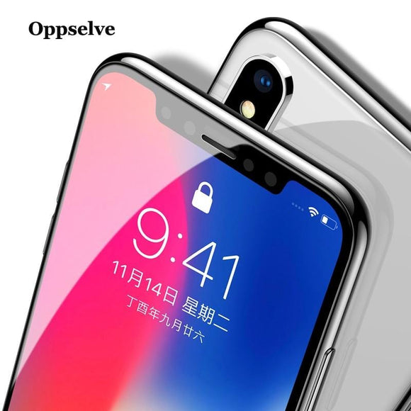 5D Cold Carving Screen Protector Tempered Glass For iPhone Xs Max X 10 Xr 8 7 Plus Full Cover Protective Glass For iPhone Xsmax