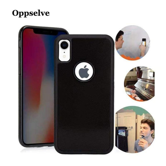 Oppselve Anti Gravity Phone Case For iPhone XS Max XR X 8 7 6 6S Plus R S Case Cover For Samsung Galaxy S8 S9 Plus Note 8 9 S9+