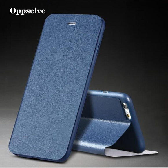 Oppselve Flip Wallet Leather Phone Case For iPhone XS Max Xr X 10 Luxury Wallet Mobile Accessories For iPhone 8 6 6s 7 Plus Capa