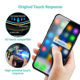 Oppselve Screen Protector Tempered Glass For iPhone Xs Max Xr X 8 7 6 S Plus Soft 3D Curved Full Protective Toughened Glass Film