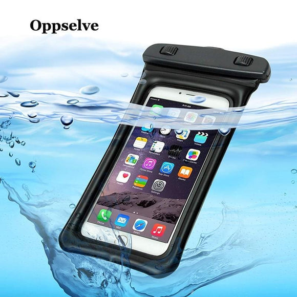 Oppselve Waterproof Case 6'' Phone Bag Case For iPhone XS Max Xr 8 7 6 6s Plus Samsung Galaxy S9 S8 Plus Note 9 8 7 Phone Pouch