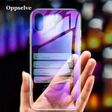 Phone Case For iPhone X Xr Xs Max Coque Ultra Thin Slim Gradient Clear Cover For iPhone 8 7 6 6s Plus Coque Capinhas Telefontok