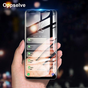 Screen Protector Tempered Glass For Samsung Galaxy S9 S8 Plus Note 8 Note8 3D Curved Full Protective Glass Film For Galaxy S9 +