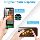 Screen Protector Tempered Glass For iPhone X Xs Max Xr 10 8 7 6 6S Plus Ultra Thin Transparent Toughened Glass Film For iPhoneX