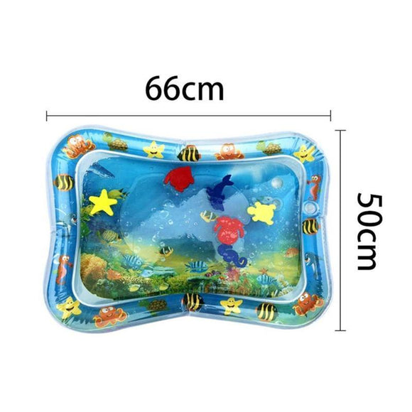 2019 Creative Dual Use Toys Baby Inflatable Patted Pad Baby Inflatable Crawling Water Cushion Water Play Mat for Infants