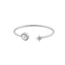 Load image into Gallery viewer, CU JEWELLERY ONE BANGLE BRACELET SILVER