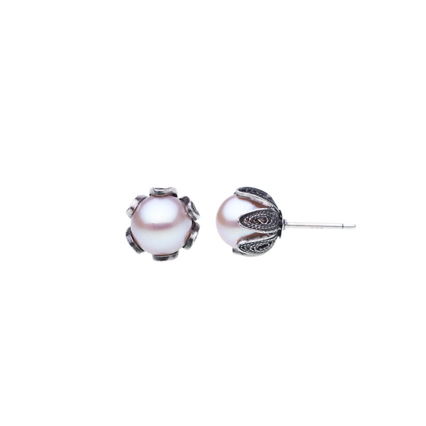 YVONE CHRISTA TULIP POST SMALL EARRINGS