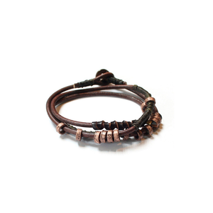 WAKAMI WRAP EARTH UNISEX BRACELET