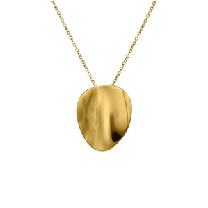 EDBLAD PEBBLE NECKLACE SHORT GOLD