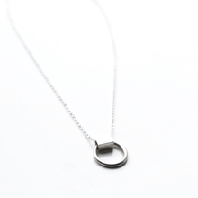 Load image into Gallery viewer, LA TERRA JEWELRY DAINTY SILVER NECKLACE