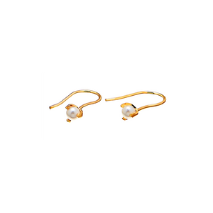 CU JEWELLERY PEARL SHORT EAR GOLD