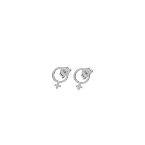 CU JEWELLERY ♀ VENUS EARRINGS SMALL, SILVER