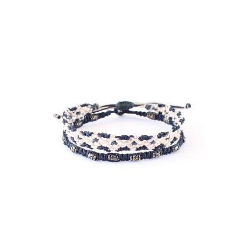 WAKAMI KREATION SET OF 2 BRACELETS