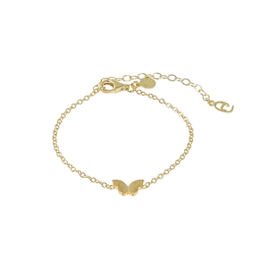 CU JEWELLERY BUTTERFLY BRACELET GOLD