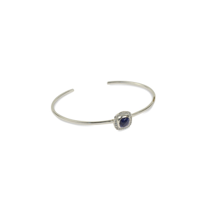 SYSTER P CLASSY BANGLE SILVER, LAPIS