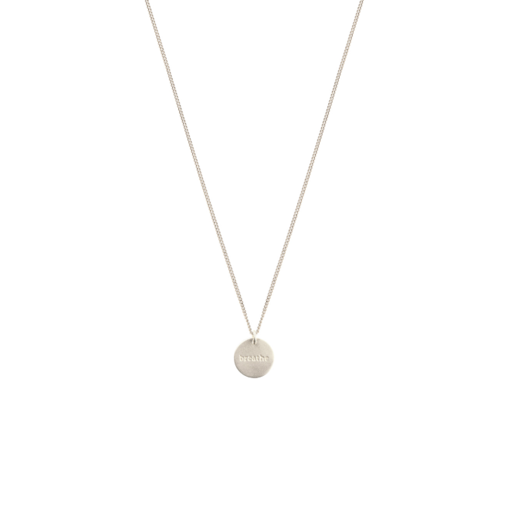 SYSTER P MINIMALISTICA BREATHE NECKLACE
