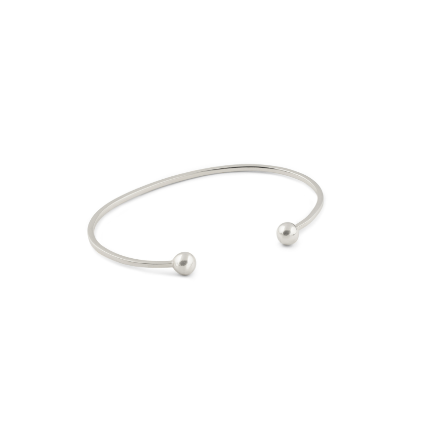 Syster P Strict bangle armband i silver