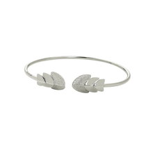 Load image into Gallery viewer, CU JEWELLERY ROOF BANGLE FLEX SILVER