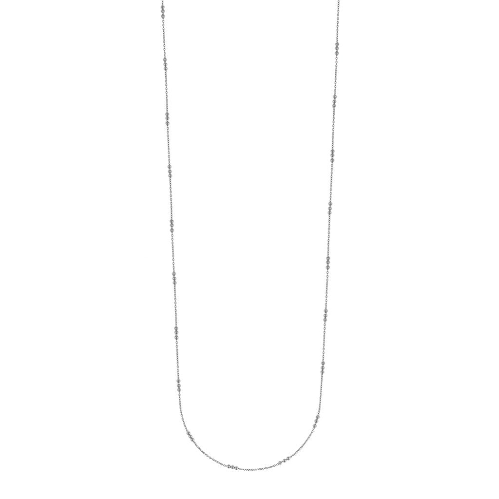 CU JEWELLERY SAINT LONG NECKLACE SILVER