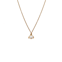 Load image into Gallery viewer, CU JEWELLERY PEARL NECKLACE SHORT GOLD