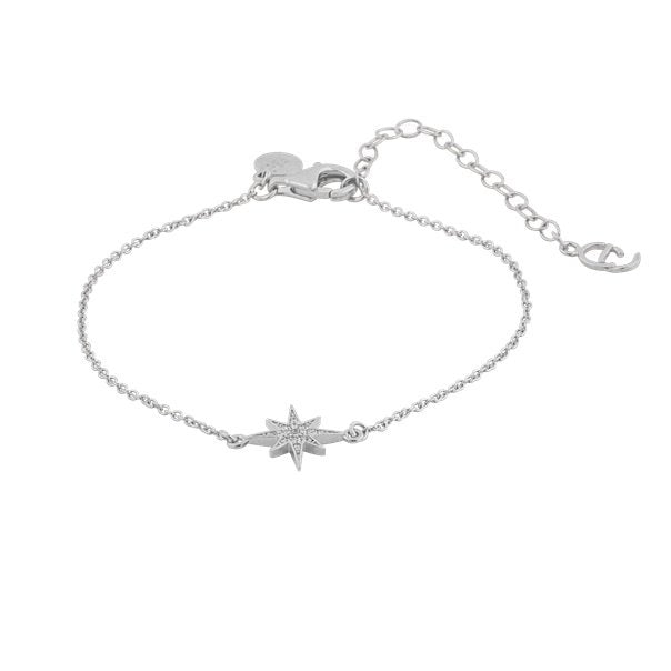CU JEWELLERY ONE STAR BRACELET SILVER