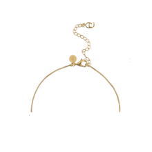 Load image into Gallery viewer, CU JEWELLERY PETAL PENDANT NECKLACE GOLD