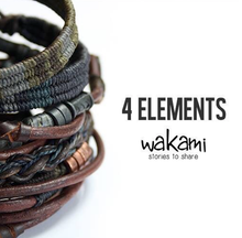 Load image into Gallery viewer, WAKAM CALM EARTH UNISEX BRACELET