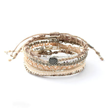 Load image into Gallery viewer, WAKAMI WOMENS EARTH BRACELET-7 STRANDS