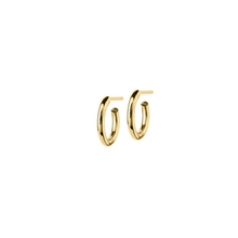 Load image into Gallery viewer, EDBLAD HOOPS EARRINGS GOLD SMALL