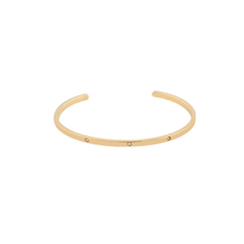 Load image into Gallery viewer, CU JEWELLERY BRILLIANT BANGLE GOLD