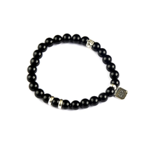 Load image into Gallery viewer, SP MAN CHRIS BRACELET BLACK ONYX